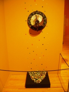 2012 art installation at National Museum of Mexican Art commemorating artist Francisco Mendoza.